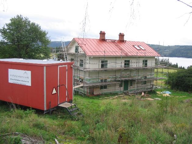Detta var ett av våra största projekt som El & Byggföretag, i denna barack har många personer ätit och värmt sig genom byggtiden. Våra elektriker var: Mattias Larsson, Robin Rådberg, Fredrik Norgren och Tommy Larsson